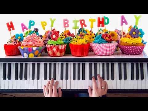 Tutorial cumplea os feliz a piano happy birthday to piano las notas de nana - Cumpleanos feliz piano ...