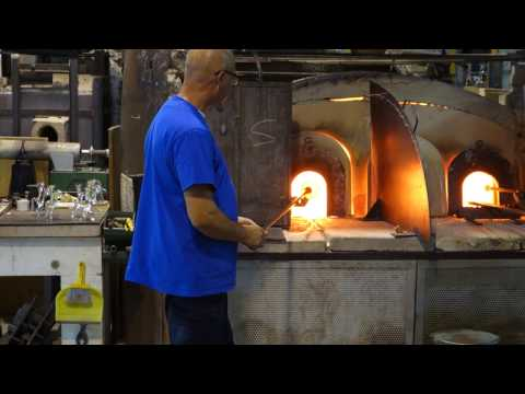 Blowing Glass on