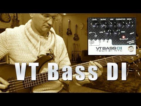 Tech21 VT Bass DI  - Review