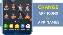 How to Change app icons on any Android phone