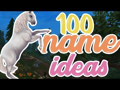 100 Horse Name Ideas! [SSO]