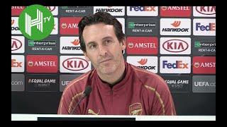 Download Video Arsenal v Qarabag I Unai Emery: Laurent Koscielny is ready to make his comeback MP3 3GP MP4