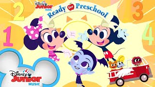 Learn Numbers, Shapes, Colors, and more! | Compilation | Ready for Preschool | Disney Junior
