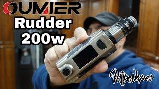 Impressive!! Oumier Rudder 200w Mod - Mike Vapes