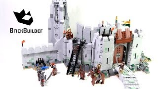 lego the lord of the rings 9474 the battle of helm s deep lego speed build