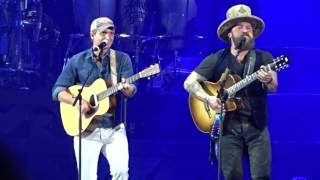 """Video Zac Brown Band - """"Love The One You're With"""" Coors Field Denver, Colorado  July 29th 2017 download MP3, 3GP, MP4, WEBM, AVI, FLV November 2017"""