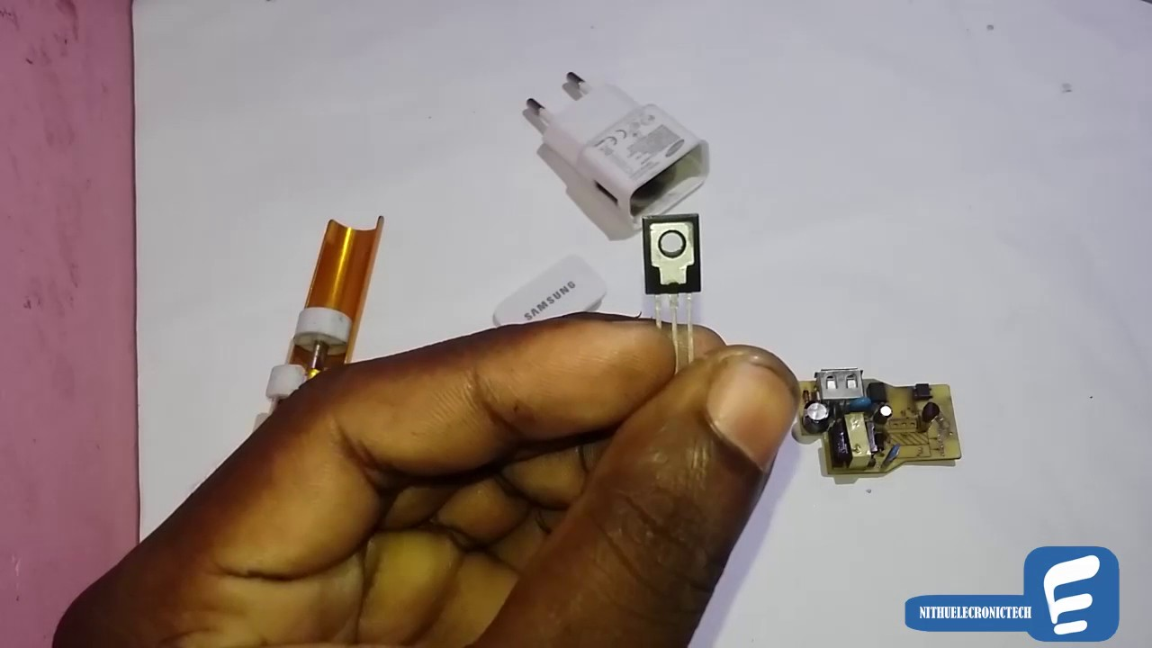 Samsung Charger Repair 5V 1A Charger  YouTube