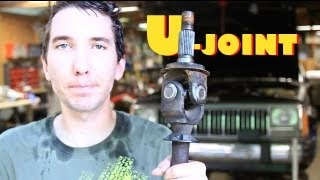 How-to Change A U-joint With A Vise