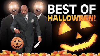 steve harvey walks off