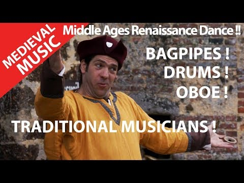 ENJOY YOUR LIFE ?! Medieval Music.Renaissance Dance ! Bagpipes ! Drums ! Oboe !