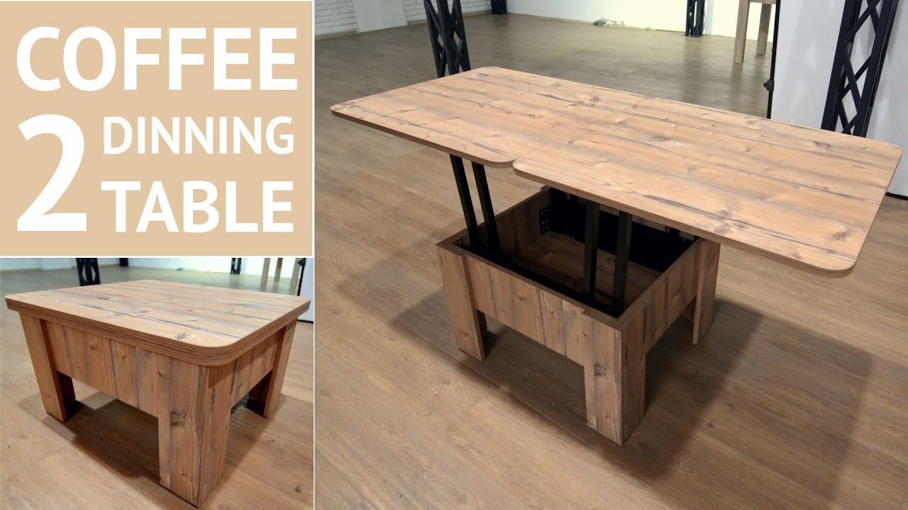 Transformer Coffee Table.Flat Table Transformer 2 In 1 Coffee And Dining Table