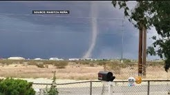 Tornado Touches Down In The Victorville-Apple Valley Area
