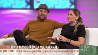Majoros Hajni megszenvedi második terhességét-2015.12.09.-tv2.hu/mokka