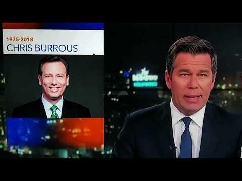 """Chris Burrous  """" Funeral""""  KTLA 5's  Coverage."""