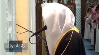 (وَإِنْ مِنْكُمْ إِلَّا وَارِدُهَا) بأداء باكي للشيخ ناصر القطامي