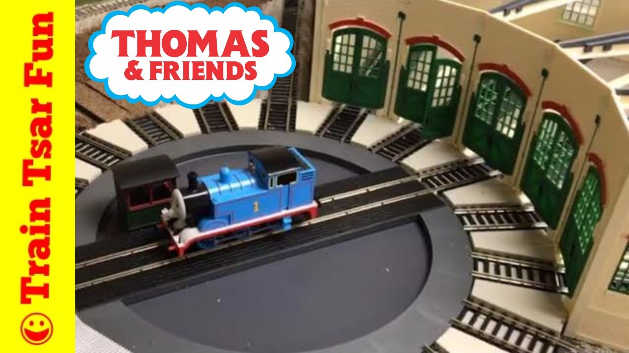 Thomas at Tidmouth Sheds Testing HO Scale Bachmann ...