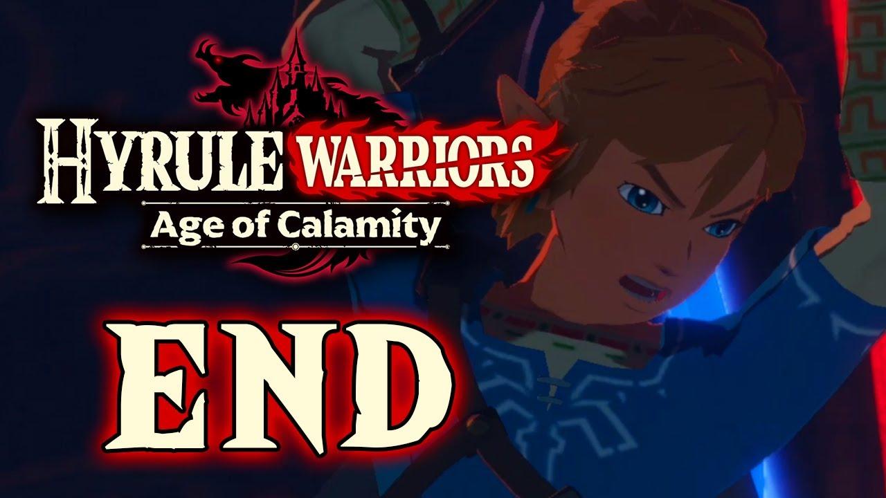 Hyrule Warriors Age Of Calamity Part 8 Ending Vs Calamity Ganon Gameplay Walkthrough Youtube