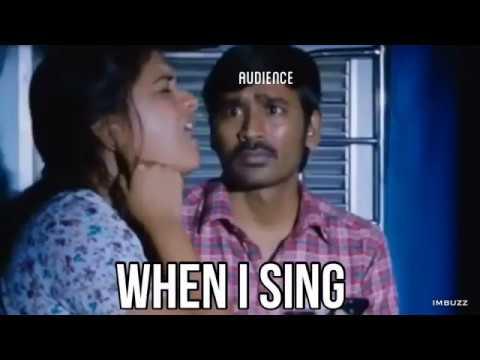when i sing....