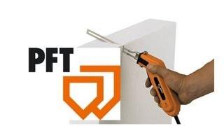 Cuchillo térmico (faca térmica) PFT Minicut para cortar poliestireno EPS y XPS