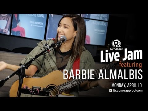 Rappler Live Jam: Barbie Almalbis