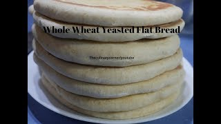 Wholemeal Yeasted Flat Bread