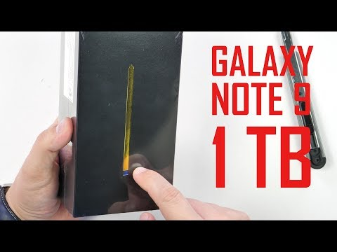 Samsung Galaxy Note 9 cu 1 TB!!! [REVIEW]