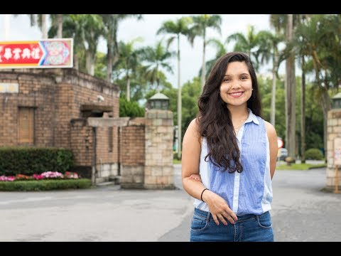 Andrea Parra Ch (Panama) Studying at National Taiwan University