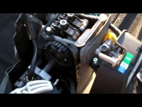 gas trimmer repair catastrophic engine failure on a ryobi 4 cycle 4 Cycle Lawn Mower Motor