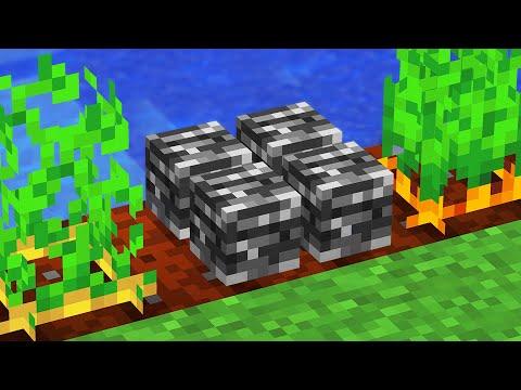 Minecraft But You Can Grow Bedrock...