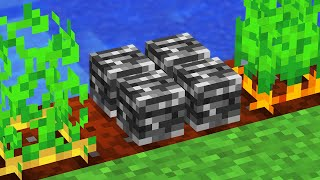 Minecraft But You Can Grow Bedrock...