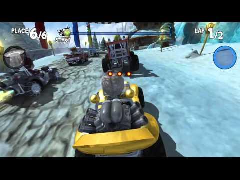 Beach Buggy Racing gameplay