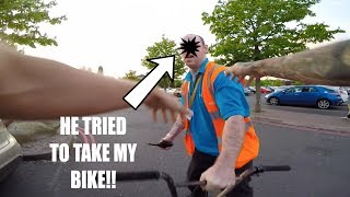 Video *CAPTURED* HE TRIED TO TAKE MY BIKE! download MP3, 3GP, MP4, WEBM, AVI, FLV Oktober 2018