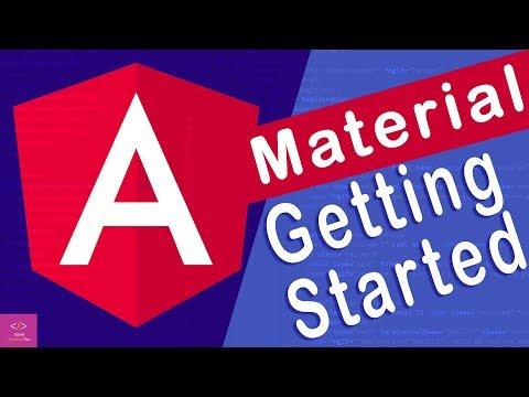 🔥Angular Material Getting Started in angular 8 [Tutorial - 1] thumbnail