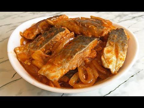 Селедка по-корейски / Marinated Herring In Korean / Маринованная Селедка / Сельдь с Луком