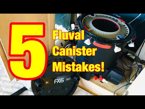 5 Common Fluval FX Canister Mistakes!
