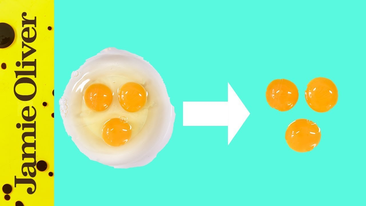 How to separate an egg: Jamie Oliver