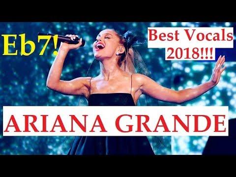 ARIANA GRANDE BEST VOCALS in 2018!!!