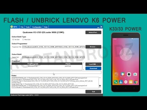 Lenovo K6 Power Stock Rom Flashing | Flash/Unbrick Lenovo K6 Power