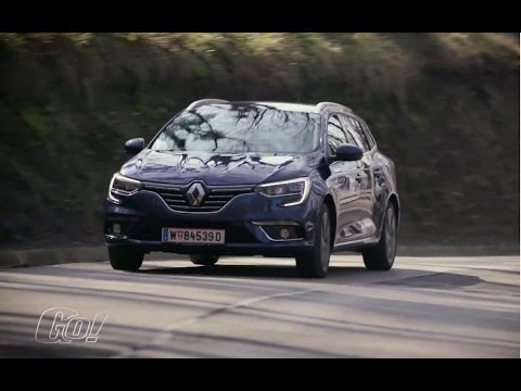 In der kreativen Ecke   Renault Megane Grandtour 2017   der Test