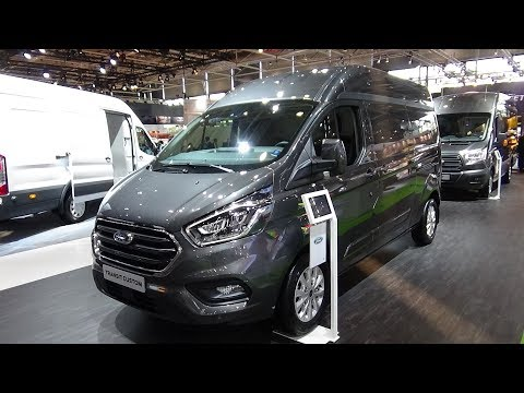 2019 Ford Transit Custom Cargo Van Limited - Exterior and Interior - IAA Hannover 2018