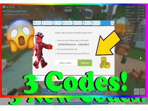 Roblox Deathrun All 3 New Codes 2020 Roblox Youtube