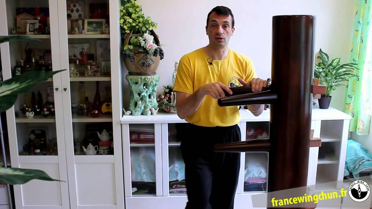 Fabuleux Le mannequin de bois Wing Chun à quoi ça sert ? - YouTube YY24