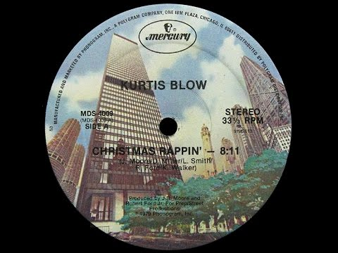 Kurtis Blow  ~ Christmas Rappin' 1979 Funky Purrfection Version