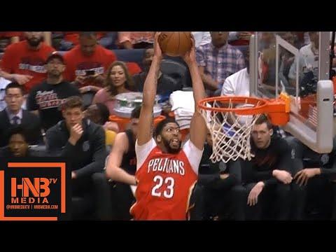 Portland Trail Blazers vs New Orleans Pelicans 1st Qtr Highlights / Game 3 / 2018 NBA Playoffs