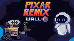 WALL•E in 16-Bit | Pixar Remix