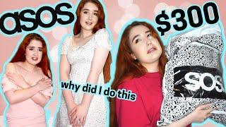 I spent $300 on summer ASOS clothes | huge cute clothing try on haul + review