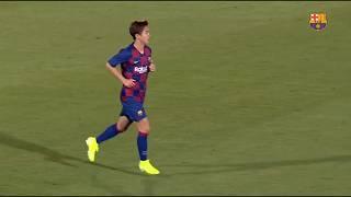 【安部裕葵プレー集】バルセロナB vs サンフェリウエン プレシーズンマッチ
