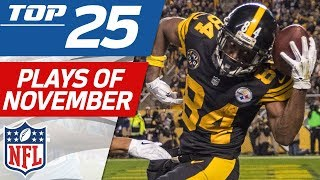 Top 25 Plays of November | NFL Highlights