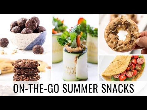 5 ON-THE-GO Healthy Summer Snacks   vegan & gluten-free