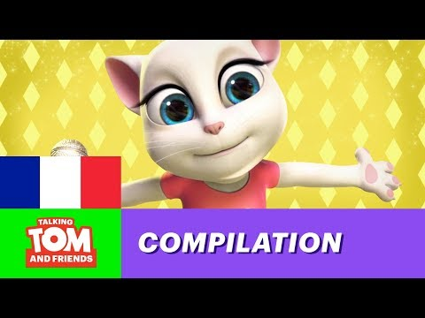 Talking Tom and Friends - Top 5 des chansons de Talking Angela
